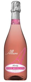 Allure Bubbly Pink Moscato 750ml - Case of 12